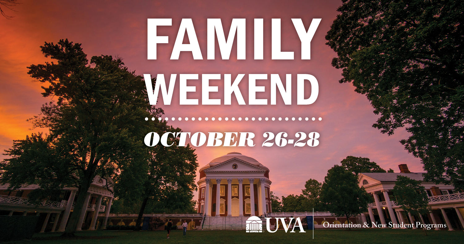 Family Weekend | October 26-28